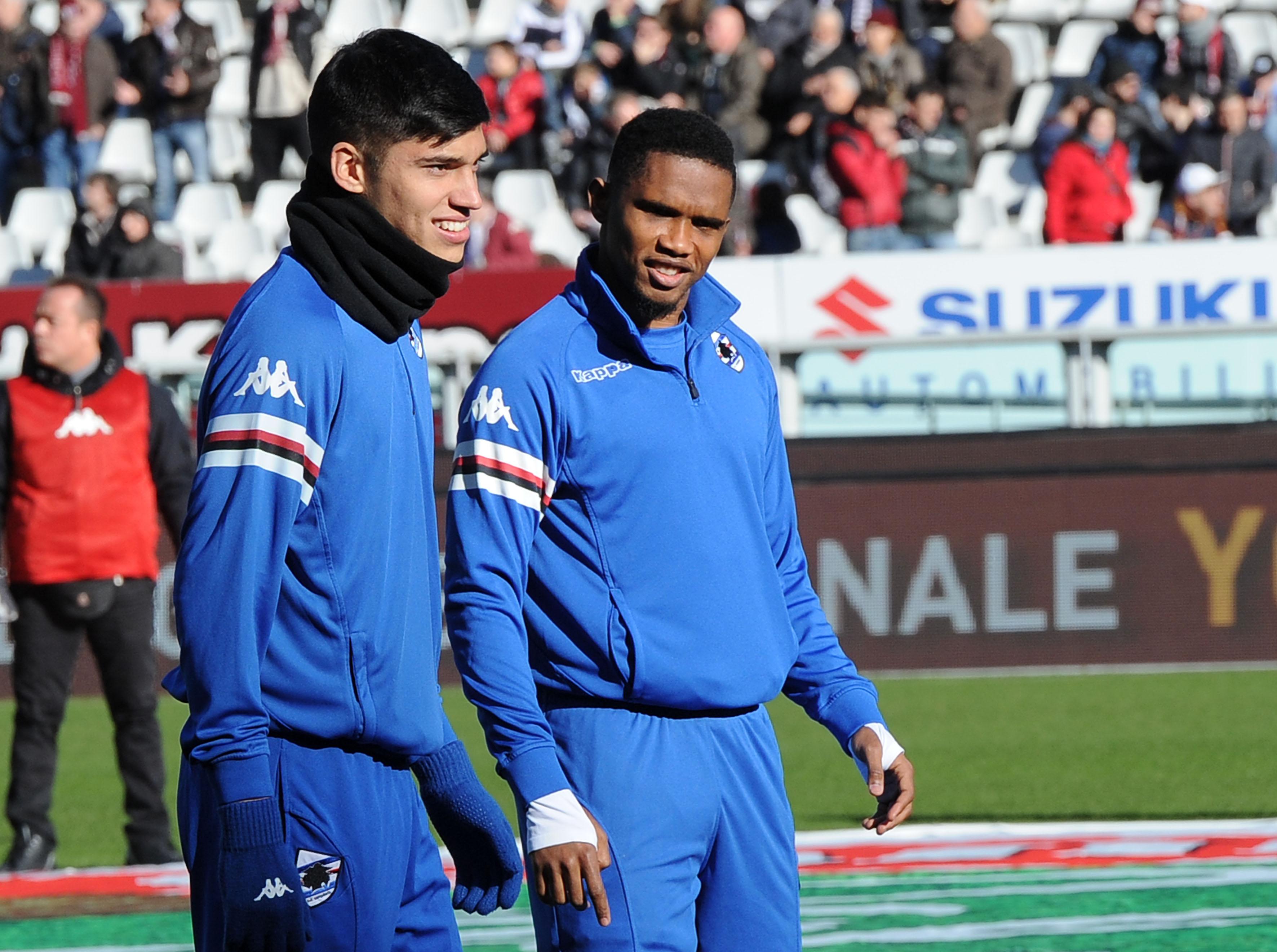 U.C. Sampdoria | PEGASO NEWSPORT- TORINO-SAMPDORIA TIM CUP 2014-15 - U.C. Sampdoria