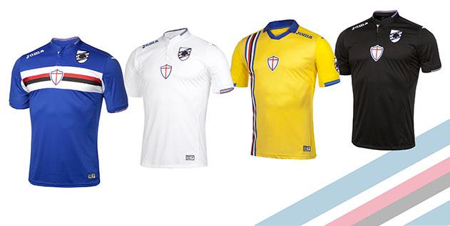 felpa calcio Sampdoria nuove