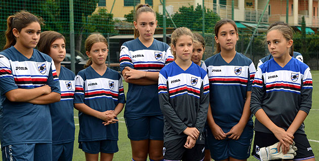 Allenamento calcio Sampdoria sconto