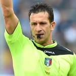 Genova, 01/11/2015 Serie A/Genoa-Napoli Daniele Doveri (arbitro)