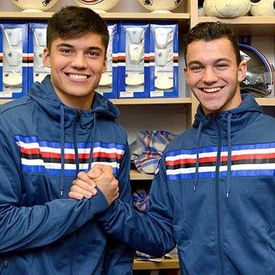 """Crowds greet Doria stars at Samp Point Chiavari, Correa: """"Can't wait to get back out there"""""""