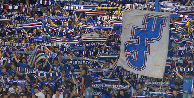 Genova, 28/09/2014 Serie A/Genoa-Sampdoria Tifosi Sampdoria