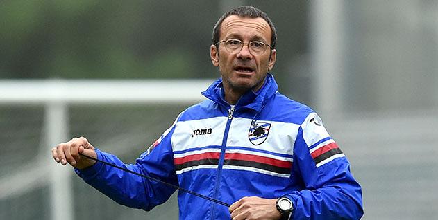 Bogliasco (Genova), 10/11/2015 Sampdoria/Allenamento Alberto Bartali (preparatore atletico Sampdoria)