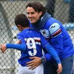 Genova, 18/10/2015 Sampdoria/Settore Giovanile 2015-16 - Pulcini 2006 - Asd James-Sampdoria (Amichevole) Christian Casalino (allenatore Sampdoria Pulcini 2006)