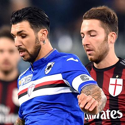 Sono ventidue i blucerchiati anti-Milan, un affaticamento muscolare stoppa Cassano