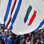 Genova, 19/05/2016 Sampdoria/Festa 25 anni Scudetto Tifosi Sampdoria