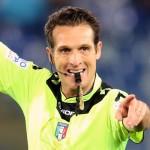 01-05-2016 LAZIO-INTER CAMPIONATO SERIE A TIM 15-16 L'ARBITRO LUCA BANTI