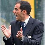 Bogliasco (Genova), 17/04/2016 Under 17 Serie A-B - Allievi Nazionali/Sampdoria-Juventus Claudio Bellucci (allenatore Sampdoria Allievi Nazionali Under 17)