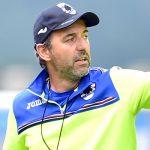 Temu (Brescia), 26/07/2016 Sampdoria/Ritiro 2016-17 - Allenamento Marco Giampaolo (allenatore Sampdoria)-Lucas Sebastian Torreira