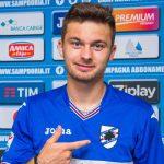 Pontedilegno (Brescia), 29/07/2016 Sampdoria/Ritiro 2016-17 - Linetty - Arrivo Karol Linetty
