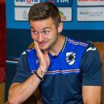 Pontedilegno (Brescia), 29/07/2016 Sampdoria/Ritiro 2016-17 - Linetty - Arrivo Karol Linetty - Intervista SampTv