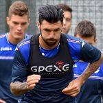 Temu (Brescia), 26/07/2016 Sampdoria/Ritiro 2016-17 - Allenamento Roberto Soriano