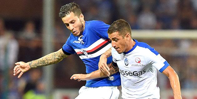 Genova, 28/08/2016 Serie A/Sampdoria-Atalanta Ricardo Gabriel Alvarez-Carlos Emilio Carmona