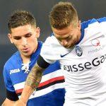 Genova, 28/08/2016 Serie A/Sampdoria-Atalanta Lucas Sebastian Torreira-Alejandro Dario Gomez