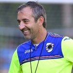Bogliasco (Genova), 23/08/2016 Sampdoria/Allenamento Dennis Praet-Marco Giampaolo (allenatore Sampdoria)