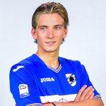 Bogliasco (Genova), 24/08/2015 Sampdoria/Testine ufficiali 2016-17 - Backstage Dennis Praet