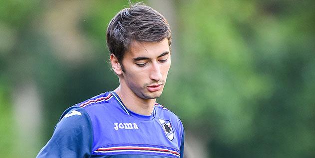 Bogliasco (Genova), 23/08/2016 Sampdoria/Allenamento Filip Djuricic