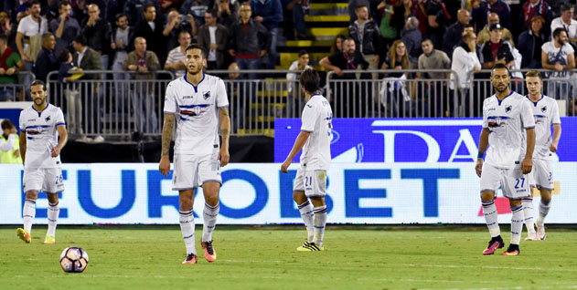 Uc Sampdoria Samps Bad Luck Continues With An Undeserved Defeat