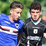 Sori (Genova), 25/09/2016 Under 15 Serie A-B/Sampdoria-Virtus Entella Denis Miceli-Davide Villa