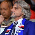 Genova, 22/10/2016 Serie A/Sampdoria-Genoa Massimo Ferrero (presidente Sampdoria)