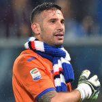 Genova, 22/10/2016 Serie A/Sampdoria-Genoa Christian Puggioni - Esultanza finale