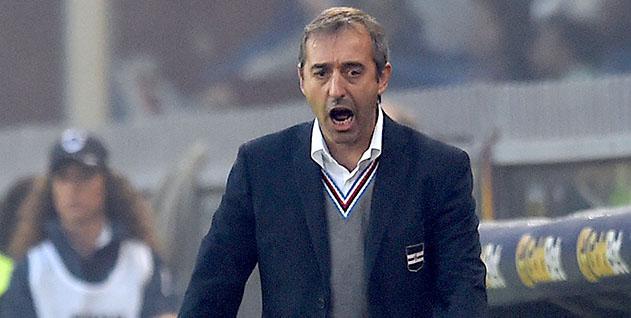 Genova, 22/10/2016 Serie A/Sampdoria-Genoa Marco Giampaolo (allenatore Sampdoria)