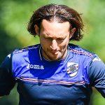 Bogliasco (Genova), 06/09/2016 Sampdoria/Allenamento Edgar Osvaldo Barreto