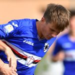 Sestri Levante (Genova), 17/09/2016 Primavera/Sampdoria-Brescia Anthony Minessi-Giacomo Ferrazzo