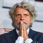 Genova, 28/08/2016 Serie A/Sampdoria-Atalanta Massimo Ferrero (presidente Sampdoria)