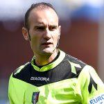 Genova, 10/04/2016 Serie A/Sampdoria-Udinese Carmine Russo (arbitro)