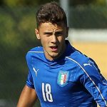 during the international friedly match between Italy U19 and Turkey U19 on September 6, 2016 in Fidenza, Italy.