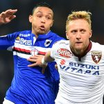 Genova, 03/02/2016 Serie A/Sampdoria-Torino Luis Fernando Muriel-Kamil Jacek Glik