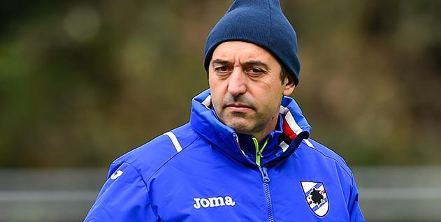 Bogliasco (Genova), 01/12/2016 Sampdoria/Allenamento Marco Giampaolo (allenatore Sampdoria)