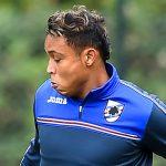 Bogliasco (Genova), 01/12/2016 Sampdoria/Allenamento Marco Giampaolo (allenatore Sampdoria)-Luis Fernando Muriel
