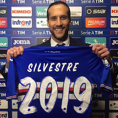Silvestre ancora con noi: il difensore rinnova fino al 2019