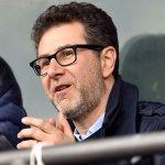 Genova, 18/03/2017 Serie A/Sampdoria-Juventus Fabio Fazio (presentatore tv)