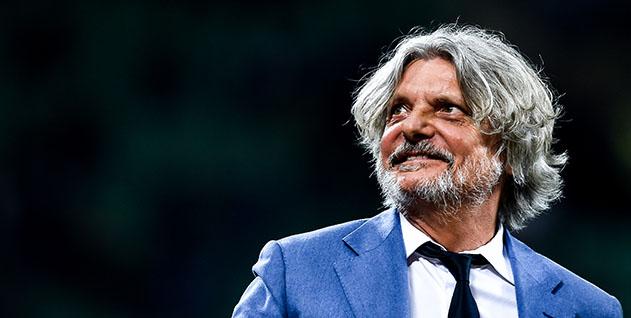 Milano, 03/04/2017 Serie A/Inter-Sampdoria Massimo Ferrero (presidente Sampdoria)