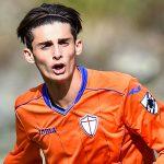 Sori (Genova), 09/10/2016 Under 16 Serie A-B/Sampdoria-Spezia Matteo Raspa