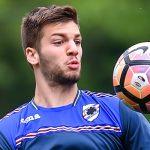 Bogliasco (Genova), 04/05/2017 Sampdoria/Allenamento Lorenco Simic-Ante Budimir-Lucas Sebastian Torreira