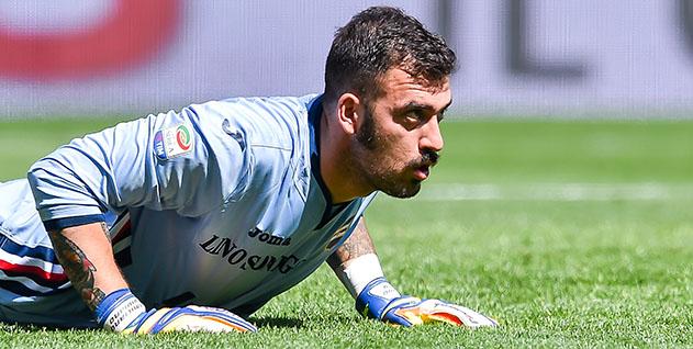 Genova, 09/04/2017 Serie A/Sampdoria-Fiorentina Emiliano Viviano