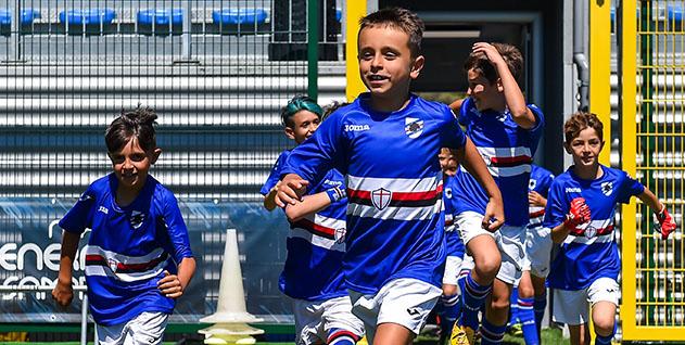 Allenamento calcio Sampdoria 2017