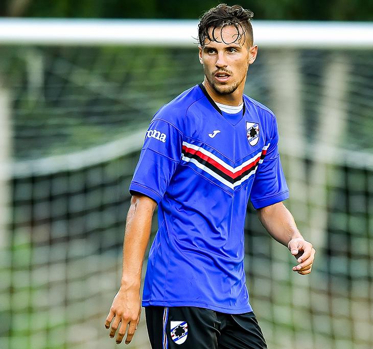 Terza Maglia Sampdoria MAXIME LEVERBE