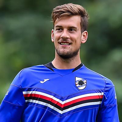 Fiocco azzurro in casa Sampdoria: benvenuto Mathias Tozzo