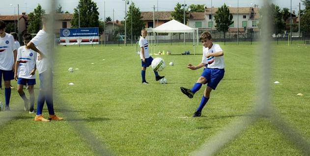 Allenamento calcio Sampdoria vendita