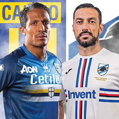 #BluCrociati – Samp and Parma honour special bond