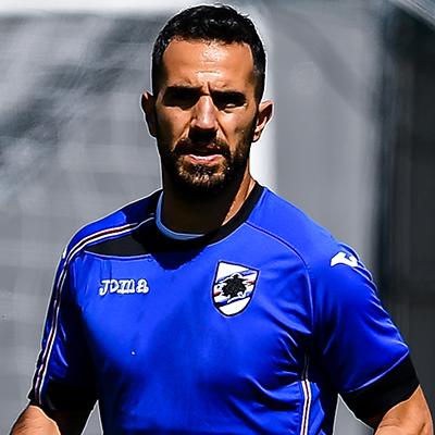 Back in training on Tuesday ahead of Juve clash - U.C. Sampdoria