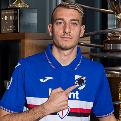 La Gumina joins Sampdoria on initial two-year loan