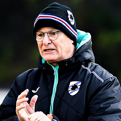 "Ranieri: ""Massive challenge at Lazio but I want to see the right spirit"""