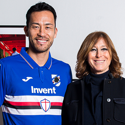 Yoshida, from Japan to Genoa: the shoot at the Chiossone museum - U.C. Sampdoria