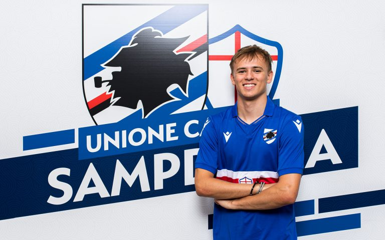 """Damsgaard: """"Samp was the right choice for me"""""""